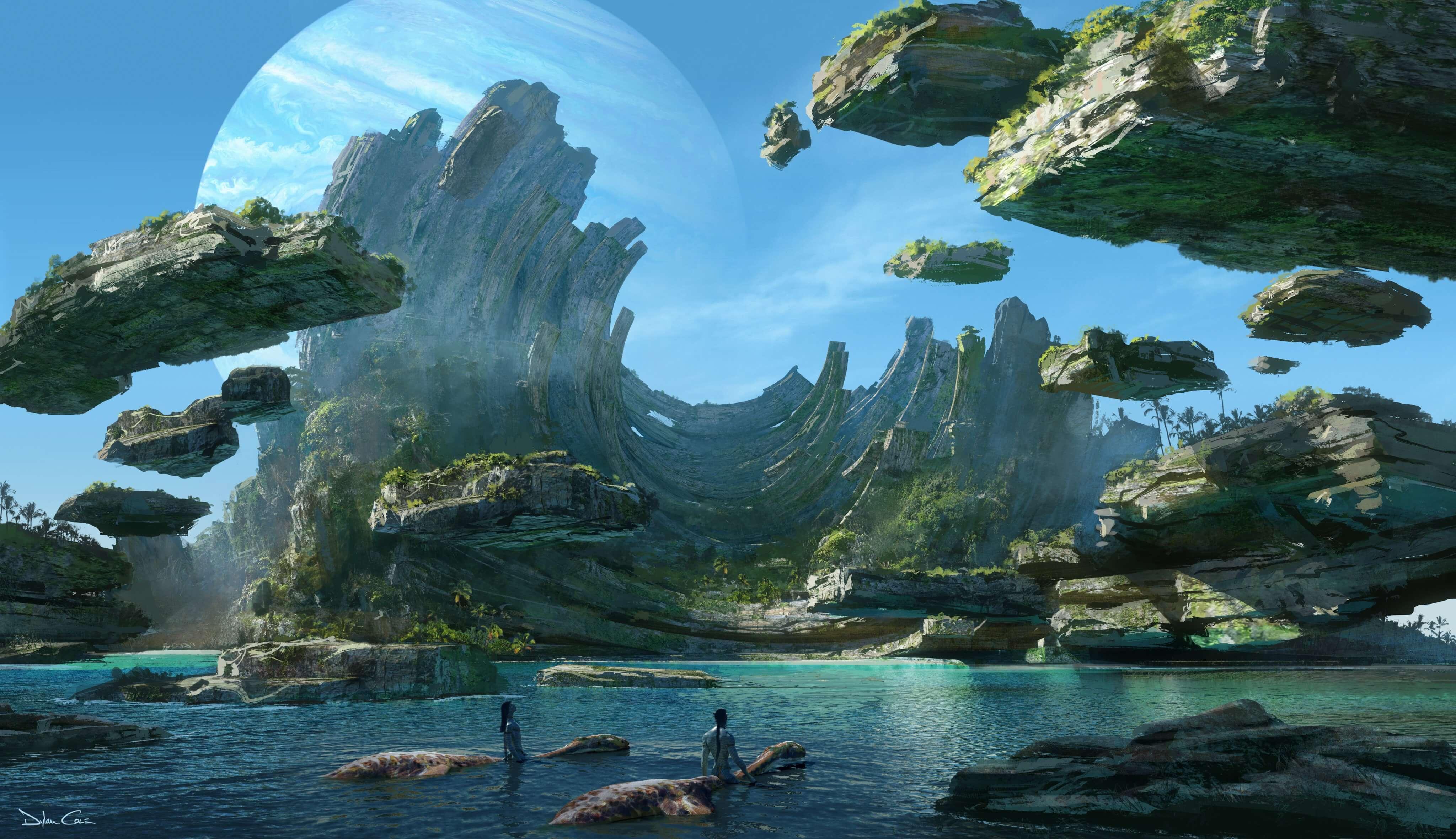 نخستین تصاویر آواتار ۲ Avatar ۲ دو سال مانده به زمان اکران منتشر شد