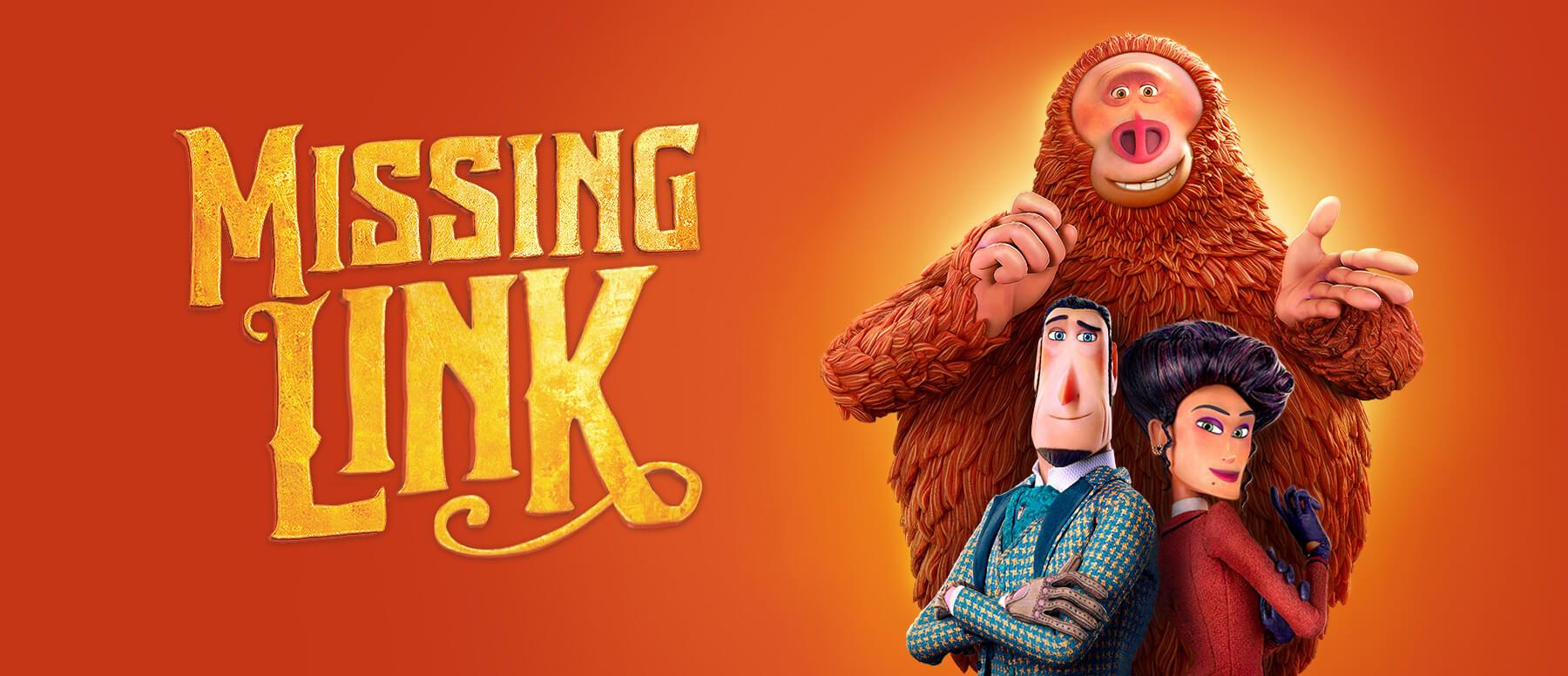 لینک گمشده Missing Link انیمیشنی خوش ساخت و جذاب اما با کمال تعجب کم فروش