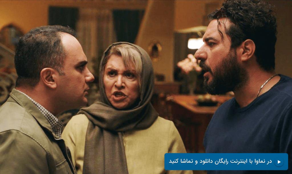 محسن کیایی و احسان کرمی در سریال هم گناه