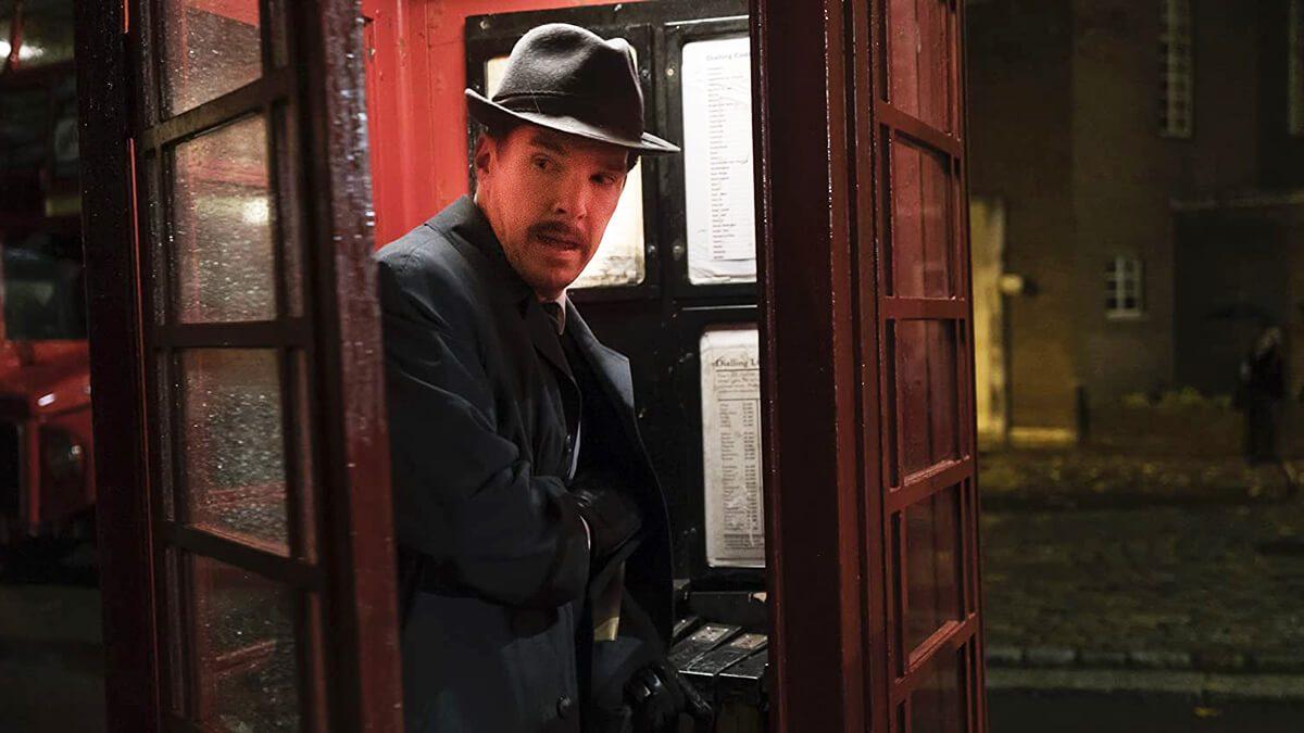 بندیکت کامبربچ در نقش جاسوسی سری در  آیرون بارک Ironbark