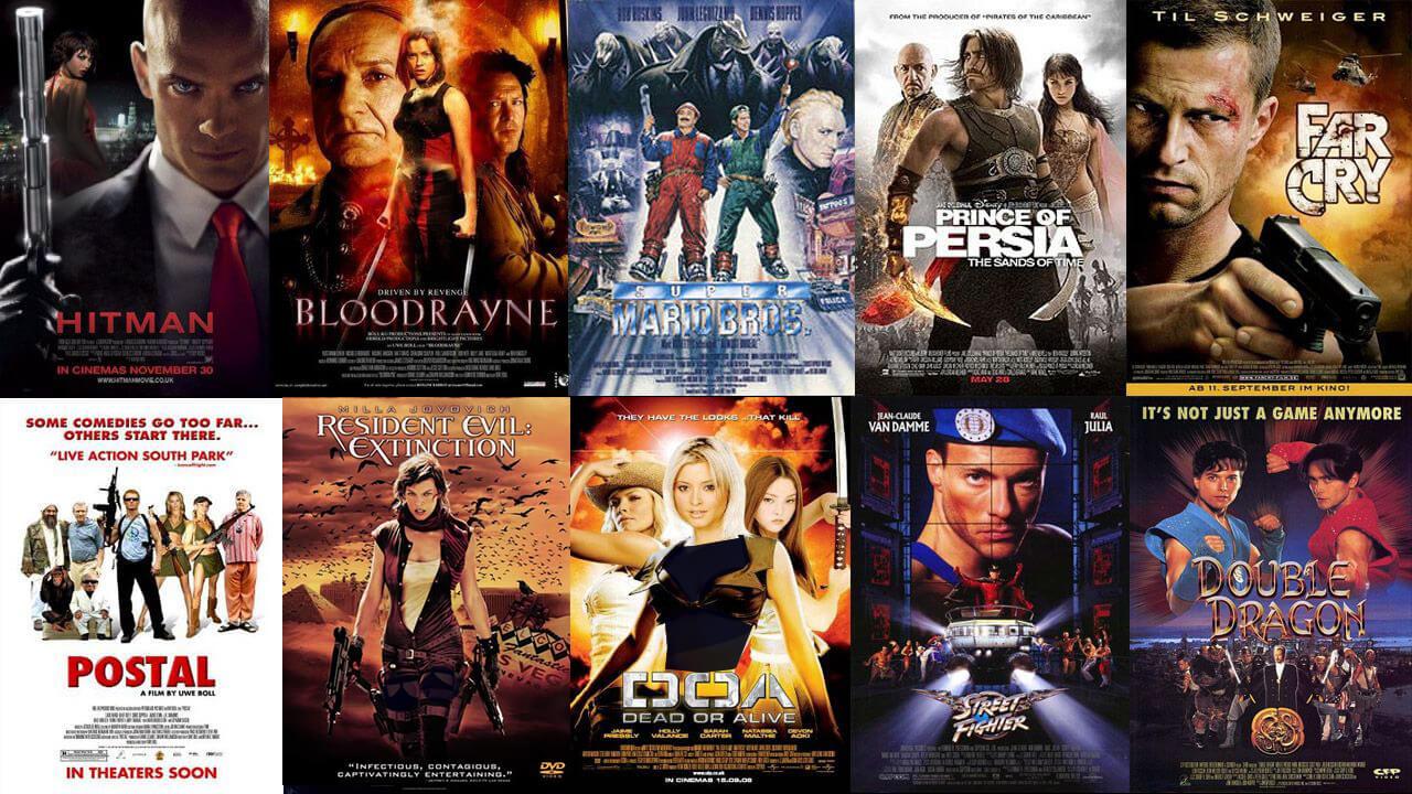 بررسی ۳۵ فیلم بازی های ویدئویی تاریخ سینما