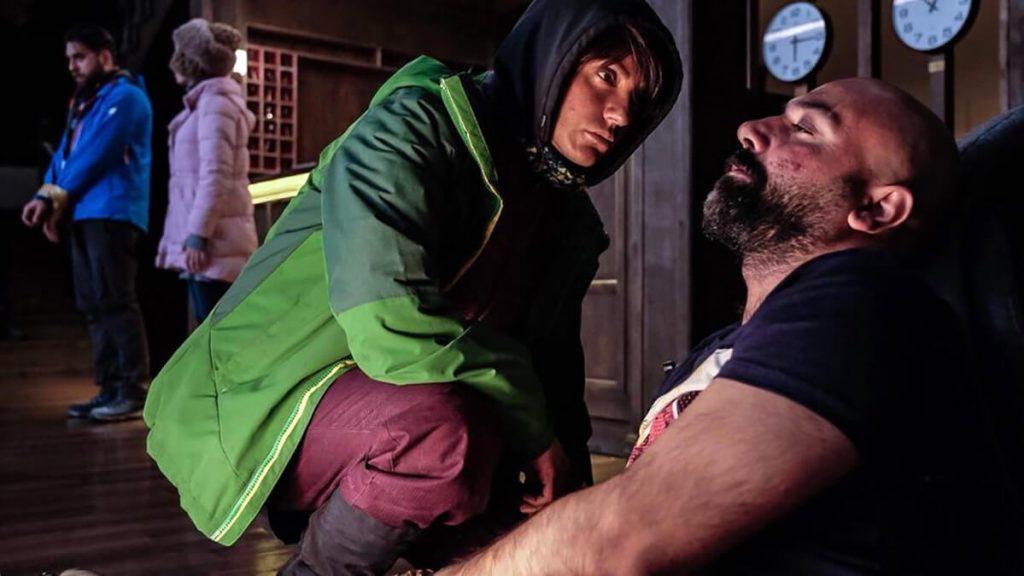 مهناز افشار در  فیلم شاه کش