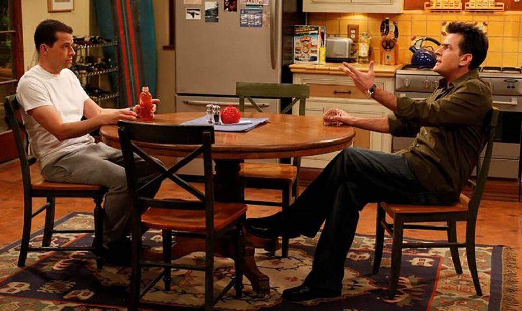 سریال تلویزیونی دو مرد و نصفی