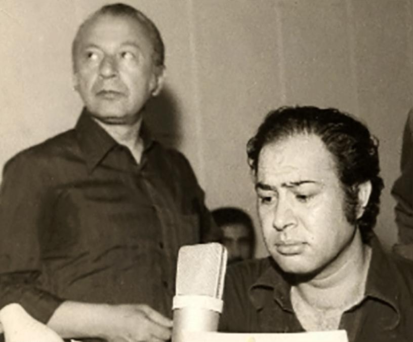علی کسمایی و حسین عرفانی دوبله