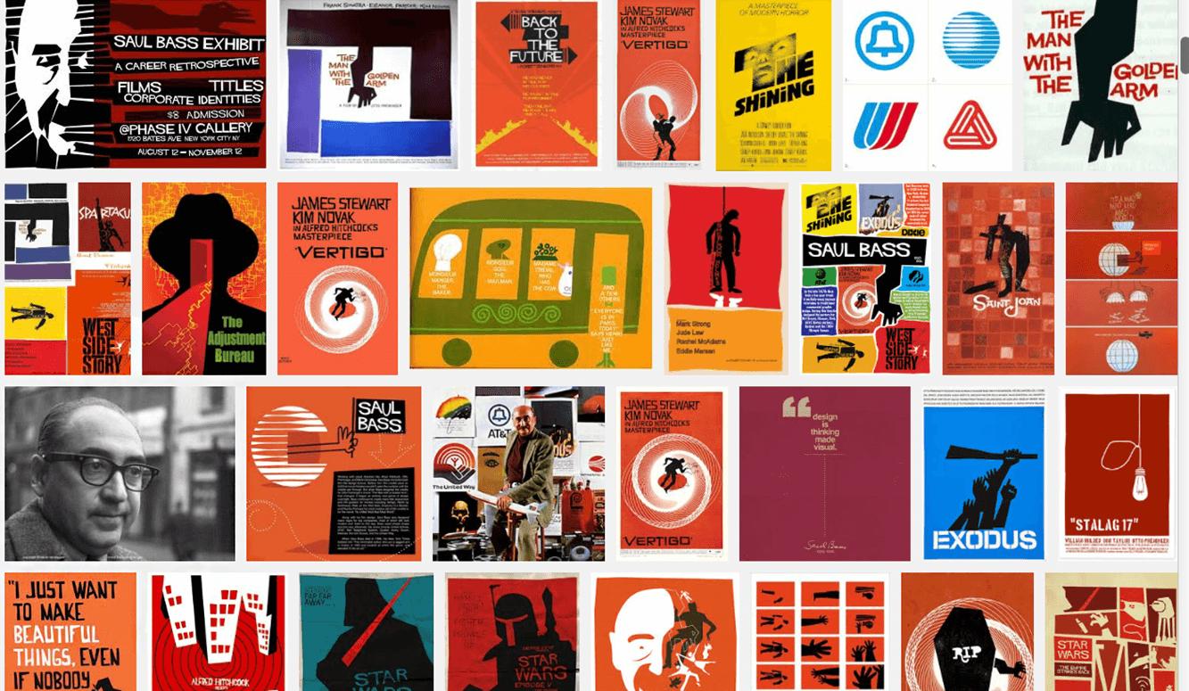 معرفی سال بس Saul Bass یکی از برجستهترین طراحان گرافیک آمریکا