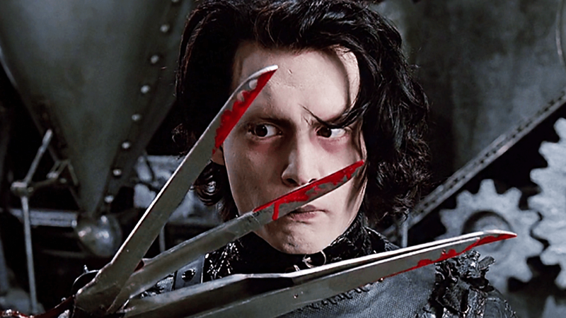 ده چیز درباره ادوارد دست قیچی Edward Scissorhans که قطعاً نمیدانستید