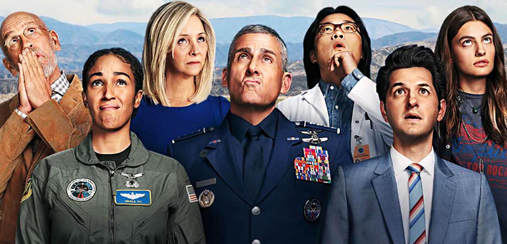 نقد فصل اول سریال نیروی فضایی Space Force – کمدی استیو کارل جذاب و سرگرمکننده است