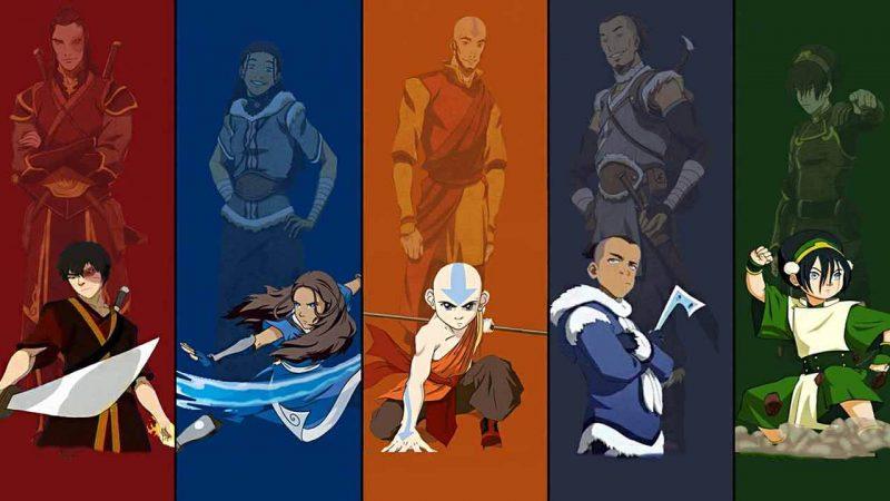 ده شخصیت برتر مجموعه انیمیشنی آواتار Avatar