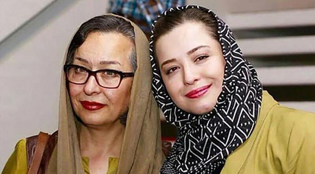 آزیتا حاجیان و مهراوه و ملیکا شریفینیا - دختر - مادر