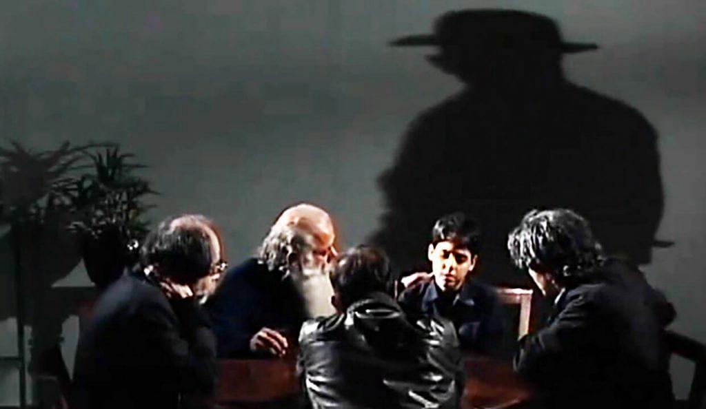 گفتگو با سایه - خسرو سینایی