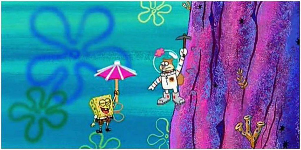 باباسفنجی SpongeBob - مری پاپینز