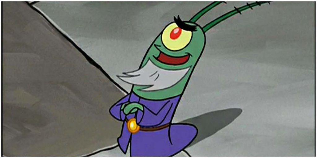 باباسفنجی SpongeBob - پلانکتونیمور