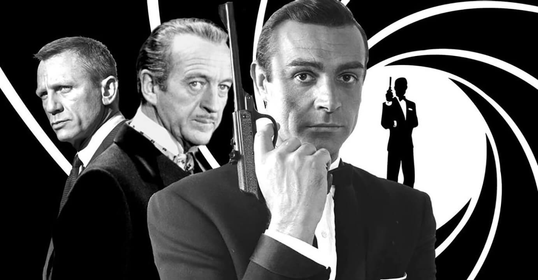 هشت بازیگری که نقش جیمز باند James Bond را بازی کردند