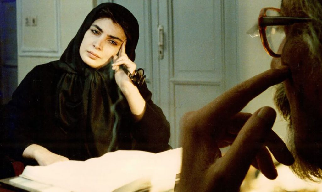 بیتا فرهی در نمایی از فیلم هامون