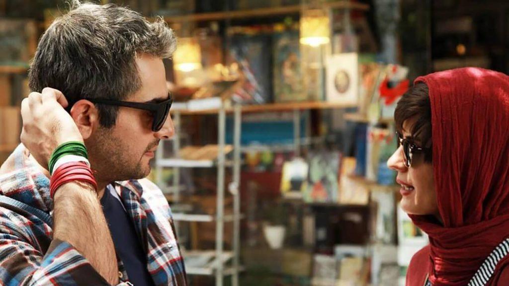 سارا بهرامی و حامد کمیلی در نمایی از فیلم ایتالیا ایتالیا