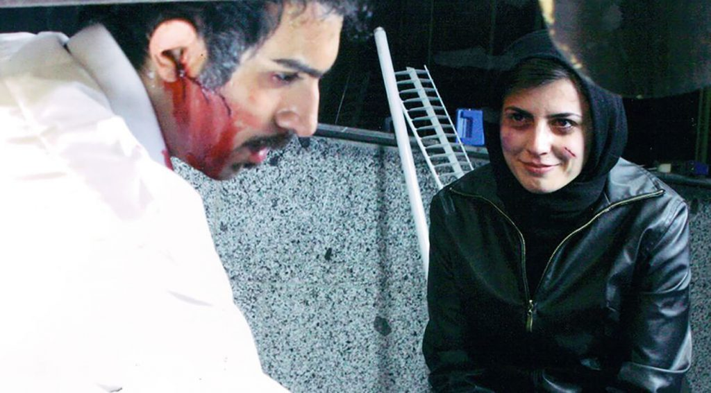 لیلا حاتمی و پولاد کیمیایی در فیلم حکم