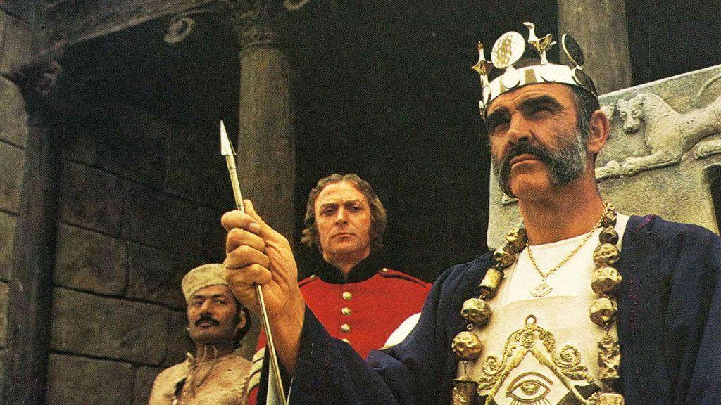 شان کانری در مردی که میخواست سلطان باشد