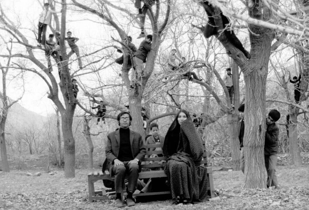 پروانه معصومی و پرویز فنیزاده در فیلم رگبار