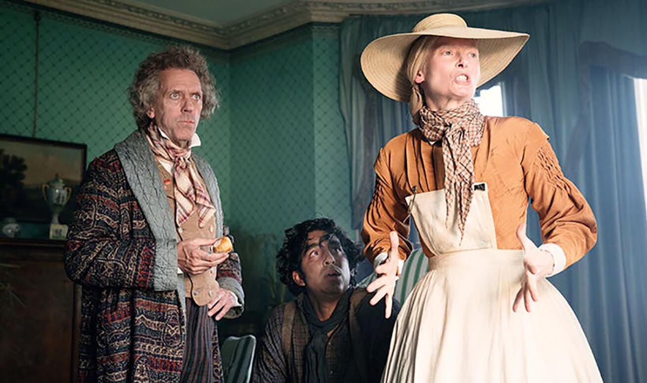 دو پتل در نقش دیوید کاپرفیلد در The Personal History of David Copperfield