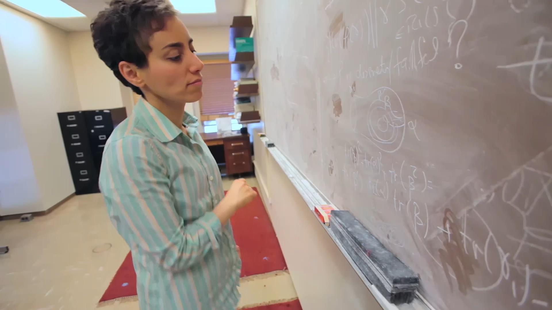 ریاضی به مثابه هنر / «رموز سطح: دیدگاه ریاضیات مریم میرزاخانی»، مستندی که هر ایرانی باید ببیند!